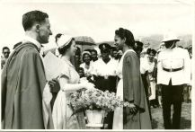 Queen Elizabeth is welcomed to the Mona Campus, 1953, WIC, Mona Library