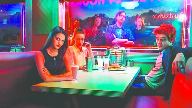 Promotional image of characters from Riverdale.