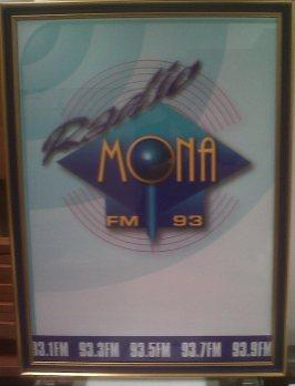 Radio Mona poster circa 2004