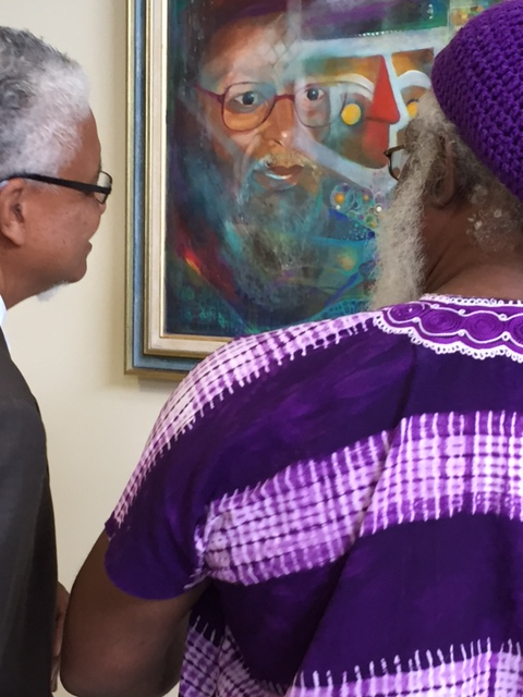 Focus on an icon: talking about an image that includes Caribbean academic Kamau Brathwaite