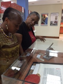 Friends of the Panama West Indian museum check out the UWI Museum.