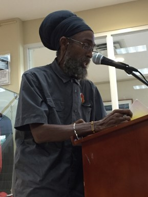 Panellist and Rootz Foundation President Priest Douglas Smith: Selassie made it his point of duty to visit the Caribbean bringing a message of redemption...