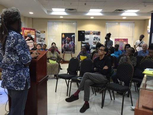 Panellist Dr Jahlani Niaah: Visit vindicated Rastafari...