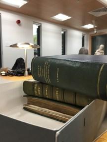 Diaries at Cadbury Library in Birmingham