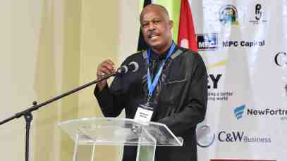 The UWI Vice-Chancellor, Professor Sir Hilary Beckles