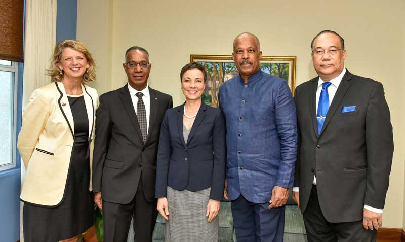 The UWI and Canada's Brock University launch joint Institute for Canada-Caribbean Affairs
