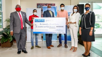 The-UWI-receives-US$250,000-towards-student-scholarships-from-CCRIF-SPC