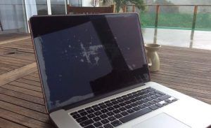 macbook schermvlekken