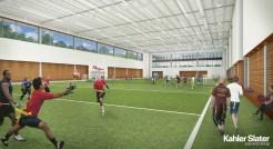 Nat indoor turf field concept