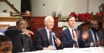 Johnson, Kushner, Smith and Pastor Smith attend roundtable on criminal justice reform and the Joseph Project