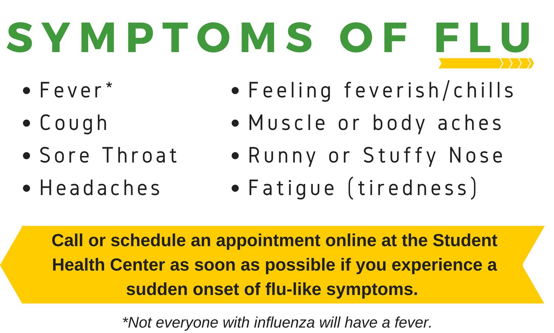 Influenza (Flu) 2017-2018 - Student Health University of Wisconsin ...