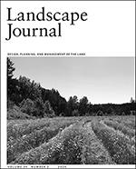 Landscape Journal Home
