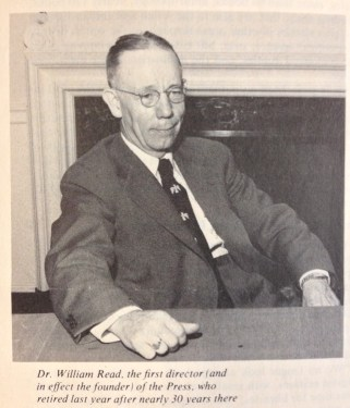 Dr. William M. Read