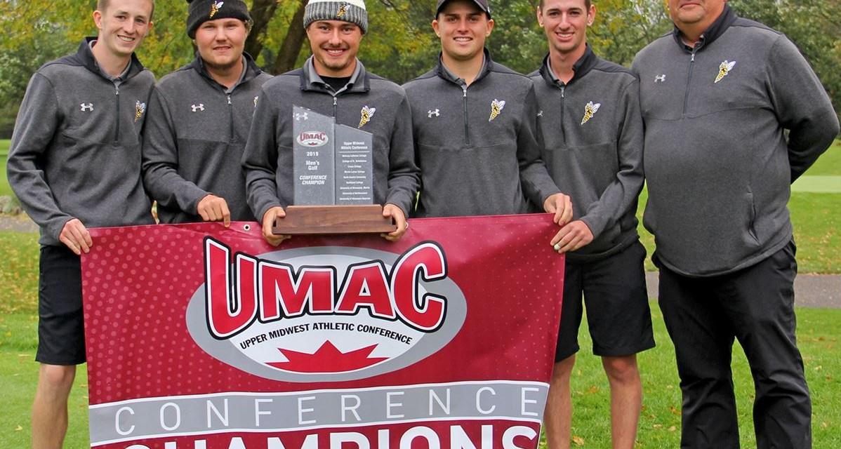 Men's golf claims second straight UMAC Championship; Women finish fourth