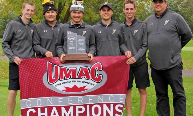 Men's golf claims second straight UMAC Championship; Women finish fourth