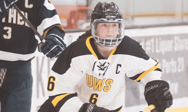 No. 8 River Falls blanks women's hockey, 3-0