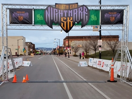 The North End Nightmare 5K, which was actually run as a two mile race due to COVID-19, took place in Superior on Saturday, Oct. 24. The top overall finisher was Maverick Koecher, 17, of Kerrick, Minn. The top female finisher was Rochelle Wirth, 58, of Duluth. Wirth finished sixth overall.