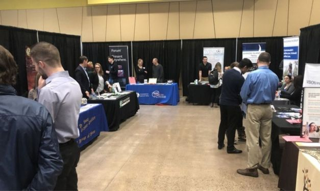 Career Services preps for Head of the Lake Job and Internship Fair