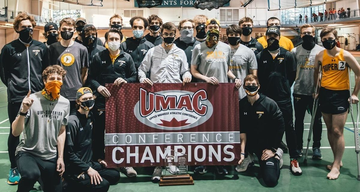 Yellowjackets win fifth straight UMAC Men's Indoor Track & Field Championship
