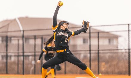 Softball sweeps Crown on senior day