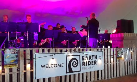 UWS Jazz Band plays outdoor concert