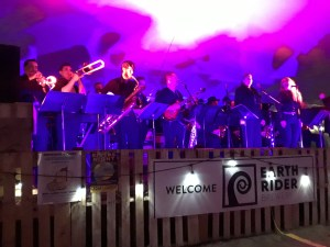 UWS Jazz Band, Show Biz Kids, and Duluth Transit Authority perform together at the Eath Rider Brewery.