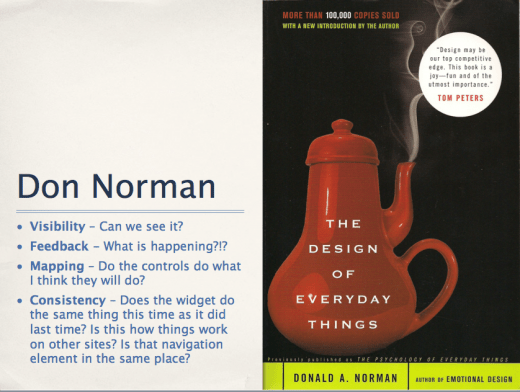 Don Norman Design of Everyday Things