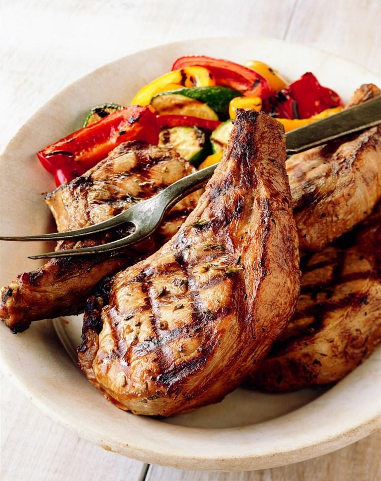 Marinade Cote De Porc Barbecue : marinade, barbecue, Côtelettes, Dernière, Minute, Recipes