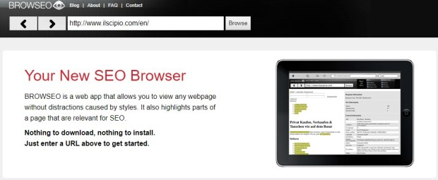 Tools - Browseo