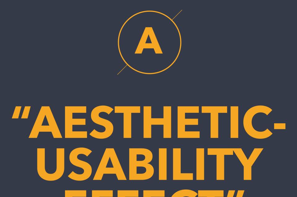 Aesthetic-Usability Effect là gì?