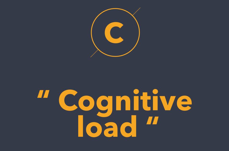 Cognitive load là gì? Nó ảnh hưởng như thế nào tới Design?
