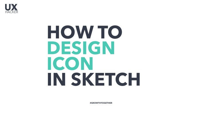 [Sketch Tutorials] How to Design Custom Icon in Sketch, Using Boolean Operations.