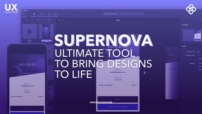 Introducing Supernova Studio | Ultimate Tool Help You Turn Sketch into native apps | UX Hacker