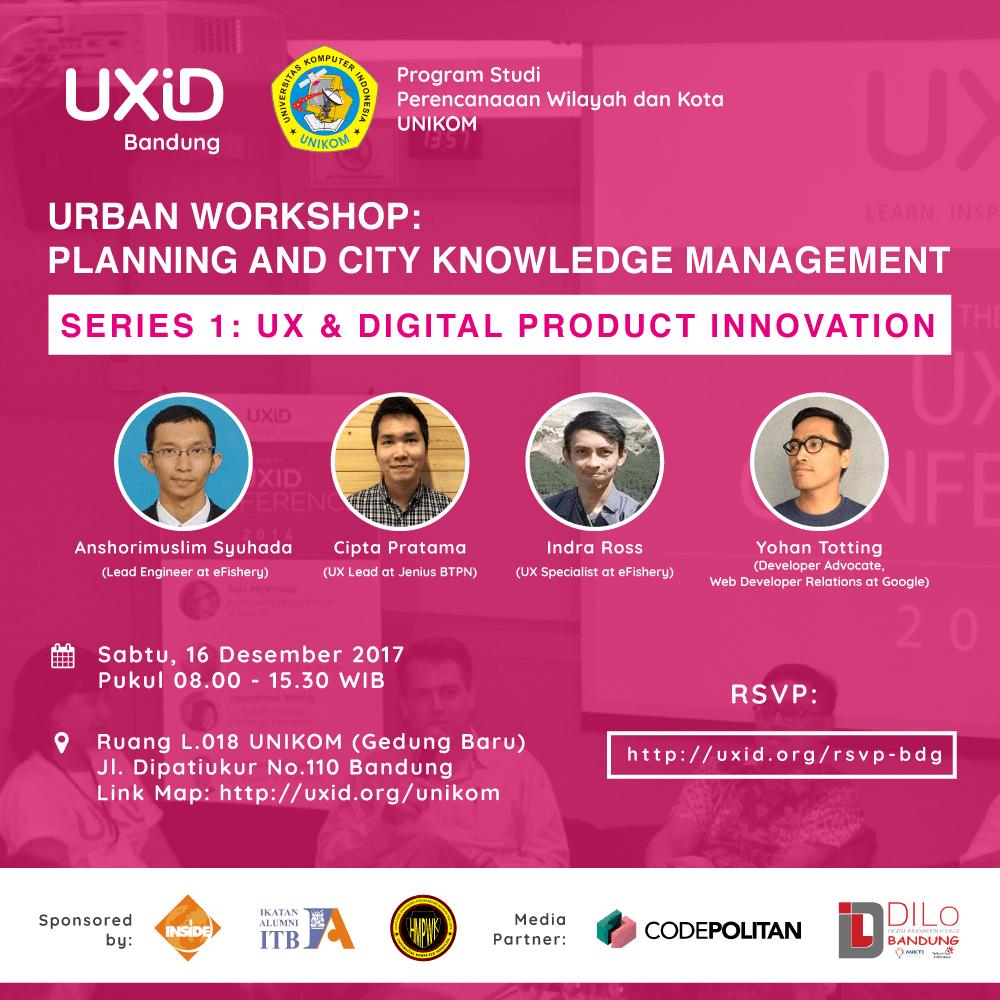 Meetup UXiD Bandung Desember 2017