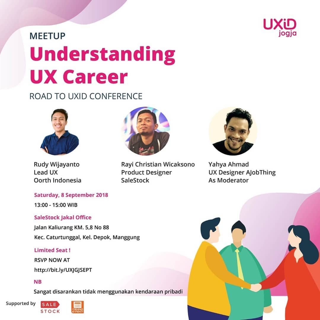 UXID Jogja Meetup September 2018: Understanding UX Career