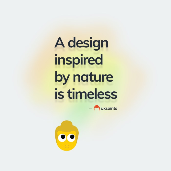 A design inspired by nature is timeless.