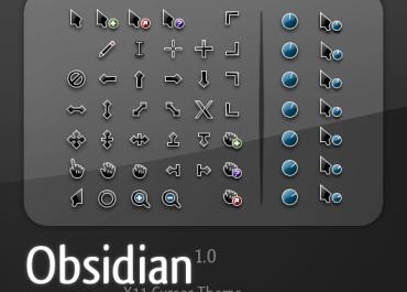 Obsidian Cursor Pack