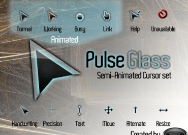Pulse Glass Cursor Pack