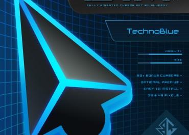 DIM v4 | TechnoBlue Cursor Pack