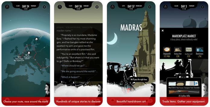 80 Days Oyunu Mobil Uygulama