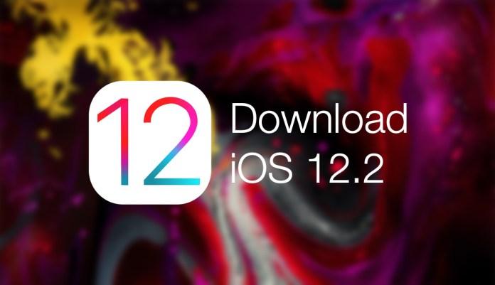 apple ios 12.2