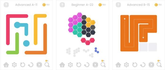 puzzle glow uygulamasi