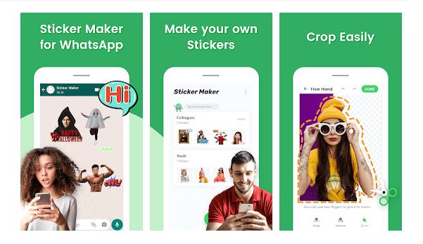 sticker maker whatsapp cikartmalari