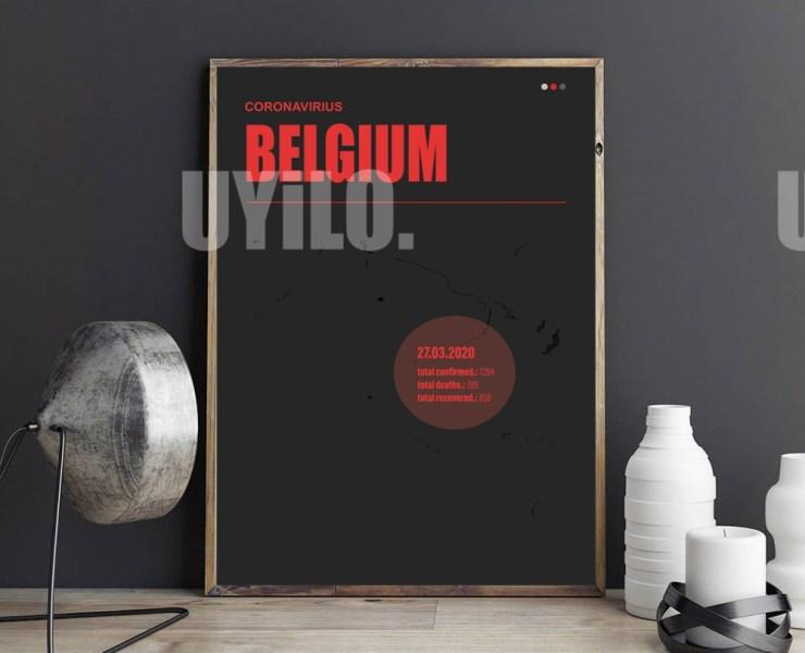 UYiLO - Coronavirus Report from March 27th, 2020 from Belgium