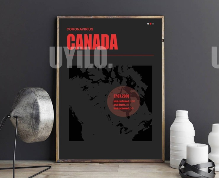 UYiLO - Coronavirus Report from March 27th, 2020 from Canada