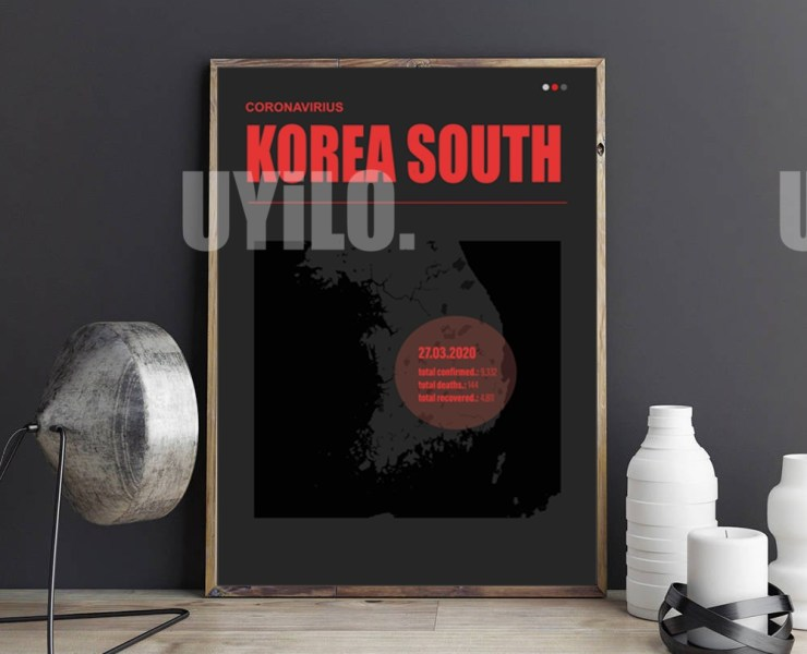 UYiLO - Coronavirus Report from March 27th, 2020 from Korea South