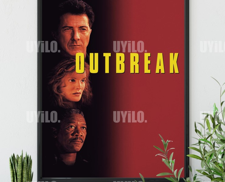 Outbreak 1995 Poster Movie Poster Print Print Instant Download Mo