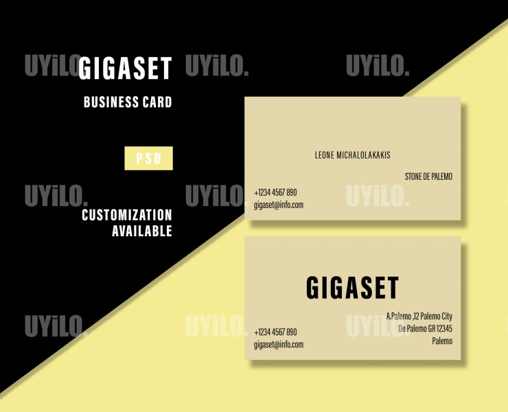 Business Cards Gigaset