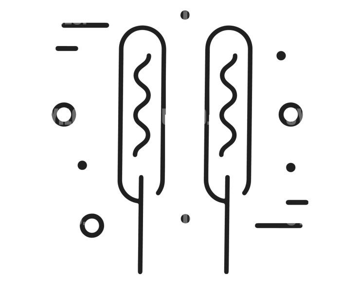 Kebab Logo Template