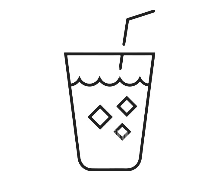 Logo Template Drinks